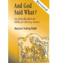 And God Said What? - Margaret Nutting Ralph