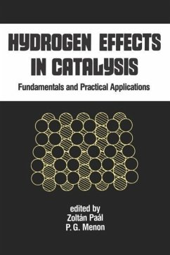 Hydrogen Effects in Catalysis: Fundamentals and Practical Applications - Paal, Z. Menon, P. G. Paal
