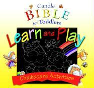 Candle Bible for Toddlers Learn and Play: Chalkboard Activities [With 4 Colored Chalk and Cloth of Erasing]