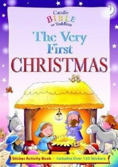 The Very First Christmas [With 130+ Reusable Stickers] - David, Juliet