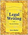Legal Writing - Steve Barber