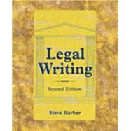 Legal Writing - Barber, Steve