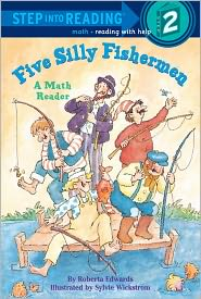 Five Silly Fishermen (Turtleback School & Library Binding Edition) - Roberta Edwards, Sylvie Wickstrom (Illustrator)
