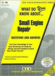 Small Engine Repair - Manufactured by National Learning Corporation