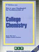 College Chemistry: Basic Mini Text Subject Outline Review