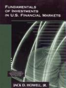 Fundamentals of Investments in U.S. Financial Markets