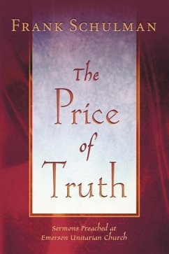 The Price of Truth - Schulman, Jacob Frank