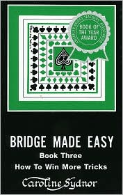 Bridge Made Easy, Book 3 - Caroline Sydnor