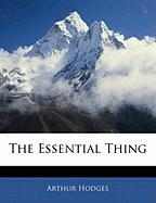 The Essential Thing