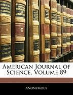 American Journal of Science, Volume 89