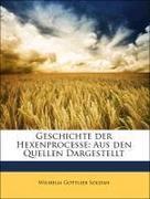 Soldan, Wilhelm Gottlieb: Geschichte der Hexenprocesse: Aus den Quellen Dargestellt