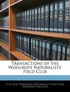 Transactions of the Woolhope Naturalists' Field Club - G H Jack