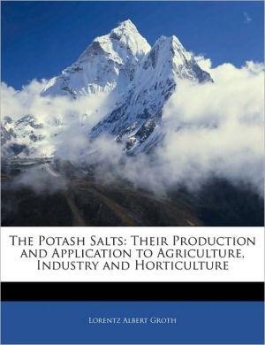 The Potash Salts - Lorentz Albert Groth