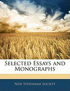 Selected Essays and Monographs