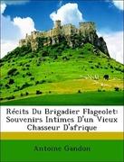 Gandon, Antoine: Récits Du Brigadier Flageolet: Souvenirs Intimes D´un Vieux Chasseur D´afrique