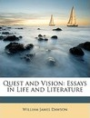 Quest and Vision - William James Dawson