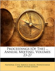 Proceedings [Of The] ... Annual Meeting, Volumes 23-27