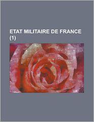 Etat Militaire de France (1 ) - United States Administration, Anonymous