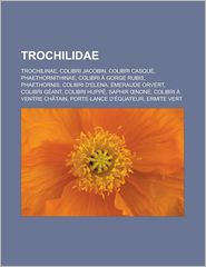 Trochilidae - Source Wikipedia, Livres Groupe (Editor)