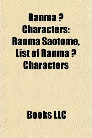 Ranma characters: Ranma Saotome, List of Ranma characters, Akane Tendo
