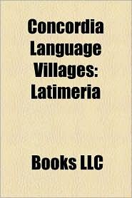 Concordia Language Villages: Latimeria
