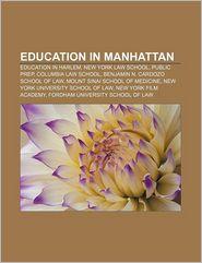 Education In Manhattan - Books Llc