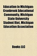 Education in Michigan: Cranbrook Educational Community