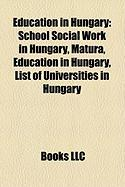 Education in Hungary: School Social Work in Hungary
