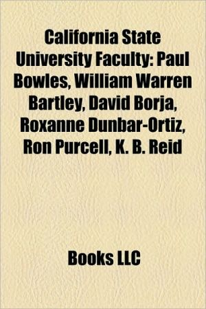California State University Faculty