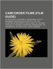 Camcorder Films (Study Guide) - Books Group (Editor)
