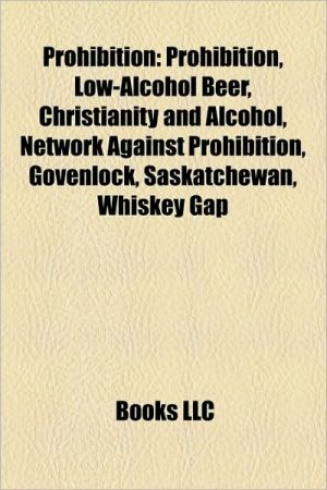 Prohibition - Books Llc
