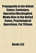Propaganda in the United States: Media Bias in the United States