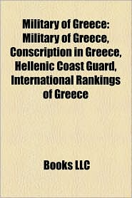 Military Of Greece - Books Llc