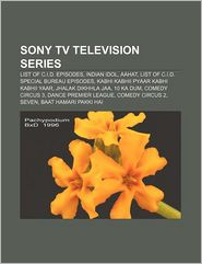 Sony Tv Television Series - Books Llc