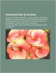 Universities In Russia - Books Llc