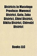 Districts in Masvingo Province: Mwenezi District