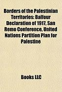 Borders of the Palestinian Territories: United Nations Partition Plan for Palestine