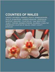 Counties of Wales: Cardiff, Gwynedd, Swansea, Powys, Pembrokeshire, Vale of Glamorgan, Carmarthenshire, Ceredigion, Newport, Anglesey - Source: Wikipedia