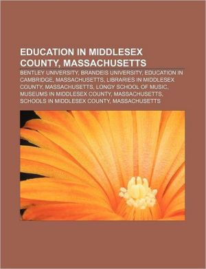 Education In Middlesex County, Massachusetts