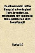 Local Government in New Hampshire: New England Town