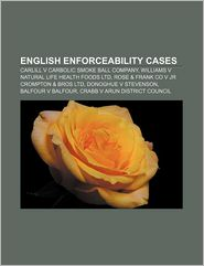 English Enforceability Cases