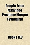 People from Masvingo Province: Morgan Tsvangirai