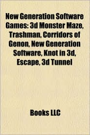 New Generation Software Games: 3d Monster Maze, Trashman, Corridors of Genon, New Generation Software, Knot in 3d, Escape, 3d Tunnel