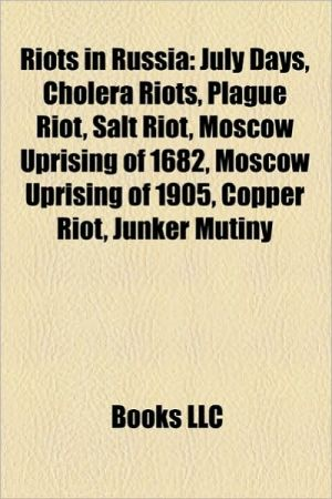 Riots in Russia: Riots in the Soviet Union, 1993 Russian constitutional crisis, Black January, 1956 Georgian demonstrations, 1989 Sukhumi riots