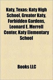 Katy, Texas: People from Katy, Texas, Clint Black, Shawn Daivari, Janeane Garofalo, Ren e Zellweger, Renee O'Connor, Ty Tabor, Katy High School - Source: Wikipedia