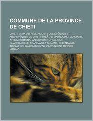 Commune De La Province De Chieti - Livres Groupe (Editor)