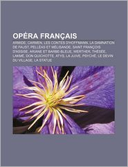 Op Ra Fran Ais - Source Wikipedia, Livres Groupe (Editor)