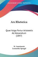 Ars Rhetorica - M Anaximenis