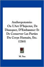 Anthropotomie - M. Sue