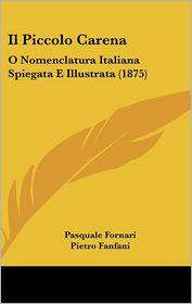 Il Piccolo Carena: O Nomenclatura Italiana Spiegata E Illustrata (1875) - Pasquale Fornari, Pietro Fanfani
